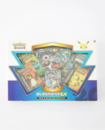Pokémon Red and Blue Collection Box Blastoise EX