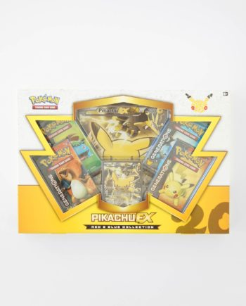 Pokémon Red and Blue Collection Box Pikachu EX