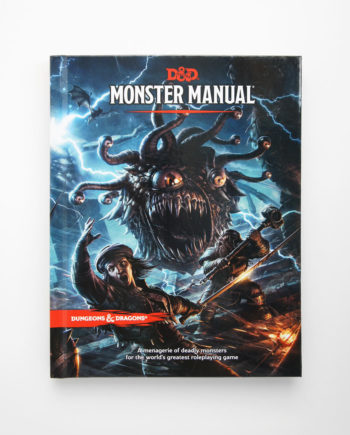 Dungeos and Dragons Monster Manual