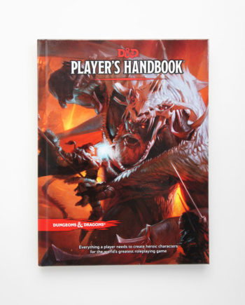 Dungeos and Dragons Players Handbook