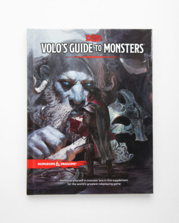 Dungeos and Dragons Volos Guide to Monsters
