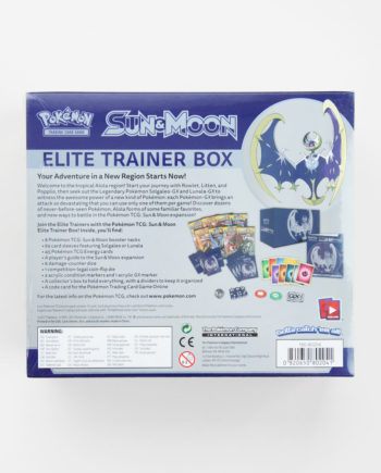 Pokémon Sun & Moon Elite Trainer Box Lunala