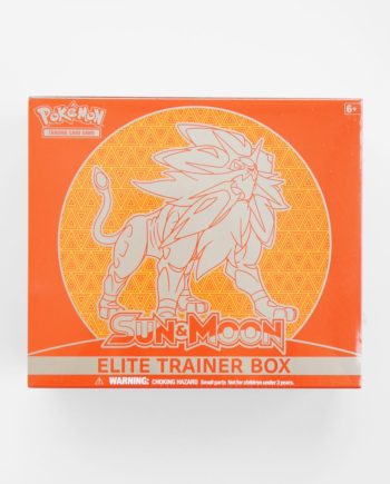 Pokémon Sun & Moon Elite Trainer Box Solgaleo